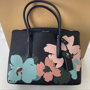 Kate Spade Margaux Large Floral Bloom Satchel